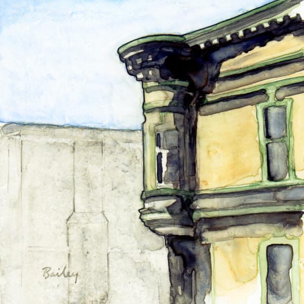 Quiet Corner, Watercolor Painting