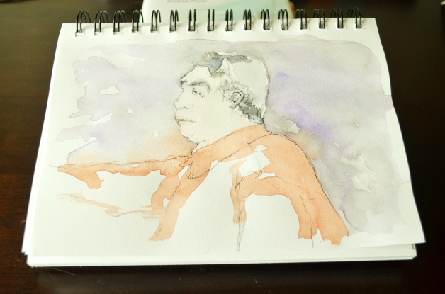 Watercolor Sketch
