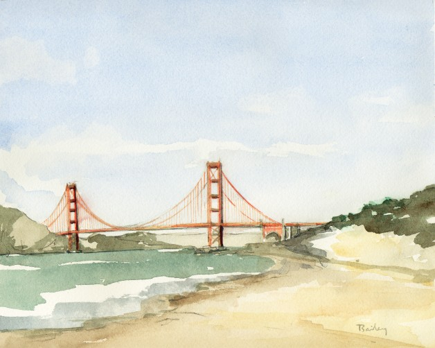 Golden Gate Bridge by Brian Bailey
