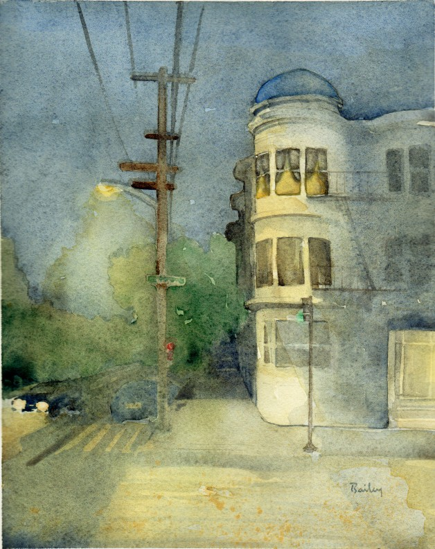 Watercolor Painting by Brian Bailey